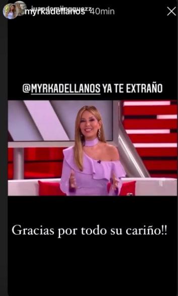 Myrka Dellanos, María Celeste Arrarás, Al Rojo Vivo (Instagram)