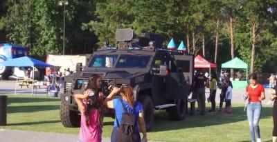 La policía está lista para cualquier situación que atente contra la comunidad