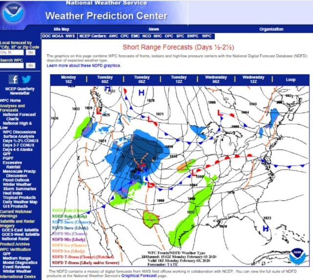 Gran tormenta de nieve y viento cruzará el país esta semana