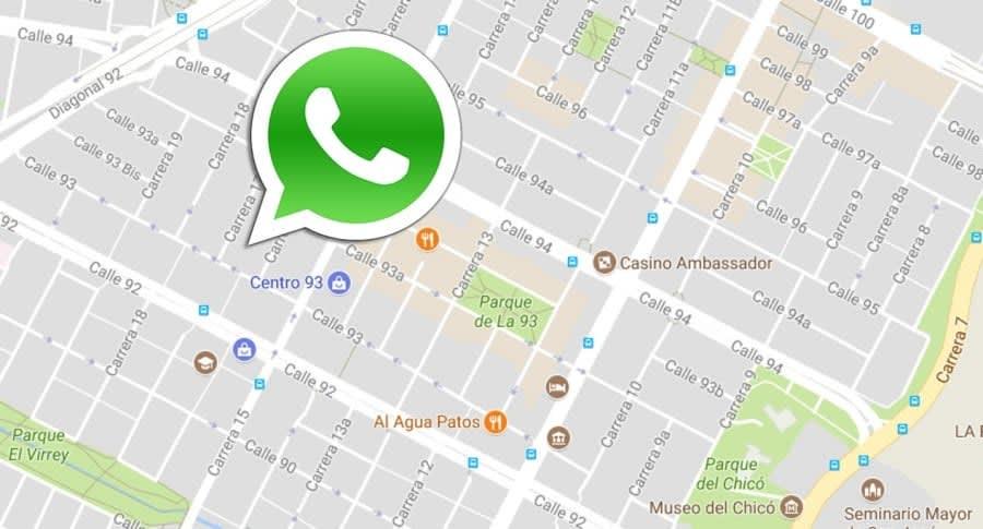 WhatsApp tiene nueva aplicación que avisa dónde estás en tiempo real