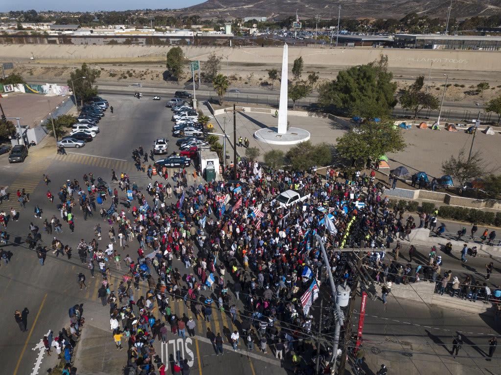 Detectan varicela entre migrantes de la caravana en Tijuana