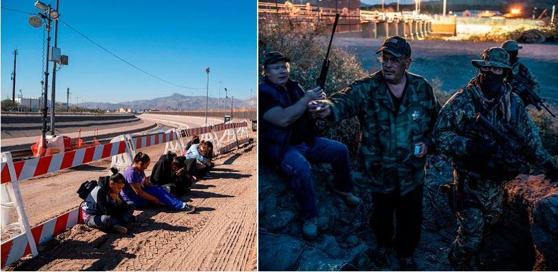 Piden a milicia no detener a inmigrantes tras difusión de video en Nuevo México