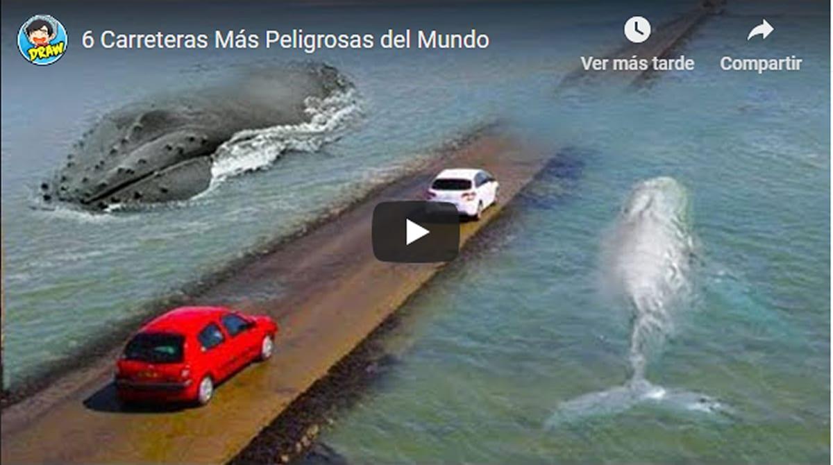 Los 6 caminos más peligrosos del planeta, ¡impresionante! (VIDEO)