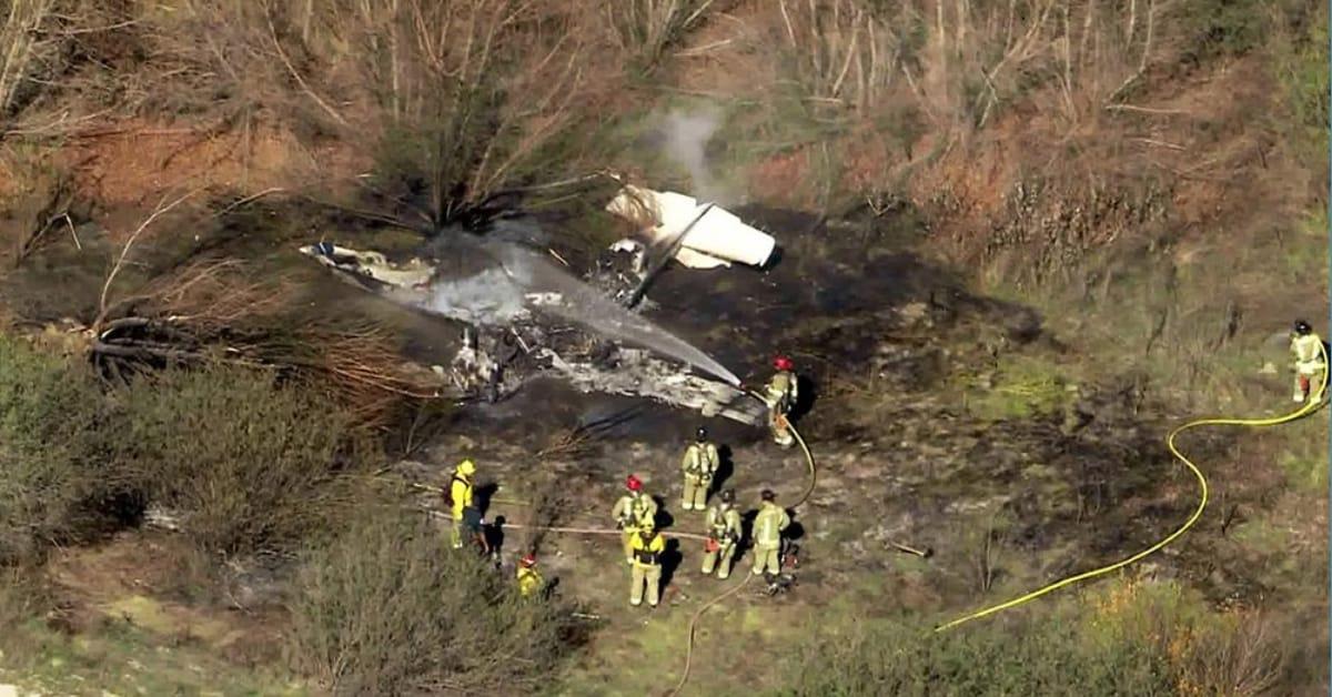 Identifican a hispanos dentro de los fallecidos en accidente aéreo en California
