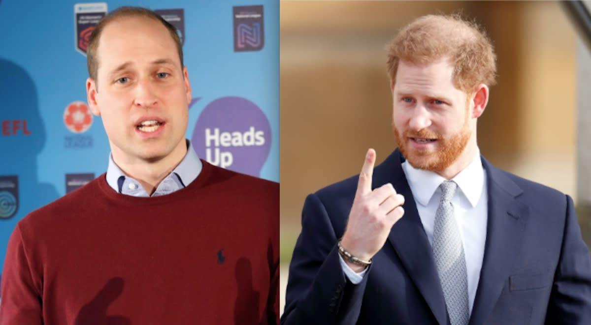 ¡Por culpa de una mujer! Reportan 'pelea' entre el príncipe William y su hermano el príncipe Harry (FOTOS)