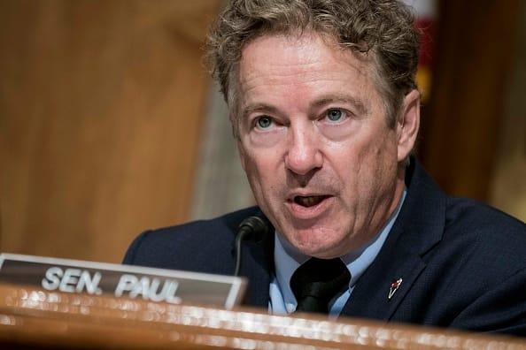 Senador republicano Rand Paul informa que tiene coronavirus