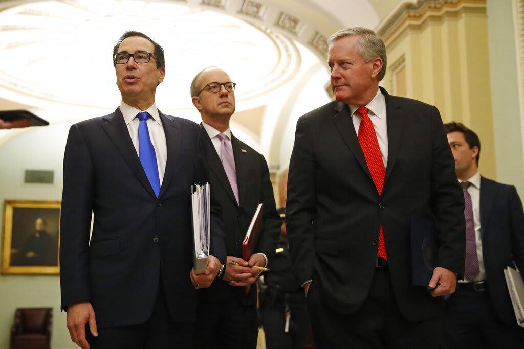 Senadores y Casa Blanca acuerdan gran plan de rescate de $2 billones por coronavirus