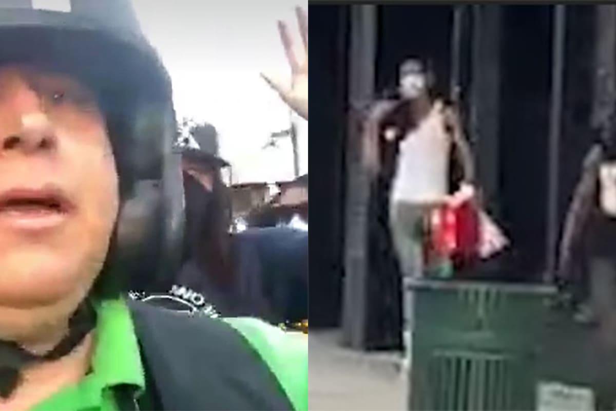 Amenazan a reporteros de MundoHispánico mientras grababan aparentes saqueos en Atlanta (VIDEO)