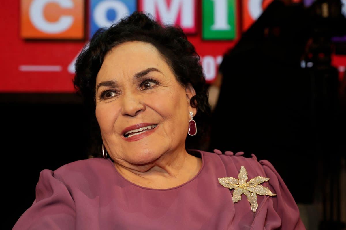 Carmen Salinas despotrica e insulta a personas que no creen que exista el coronavirus (FOTOS)