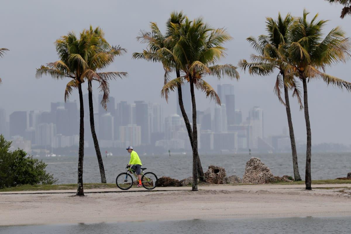 Florida: Emiten alerta por impacto de la tormenta tropical Sally (FOTOS)