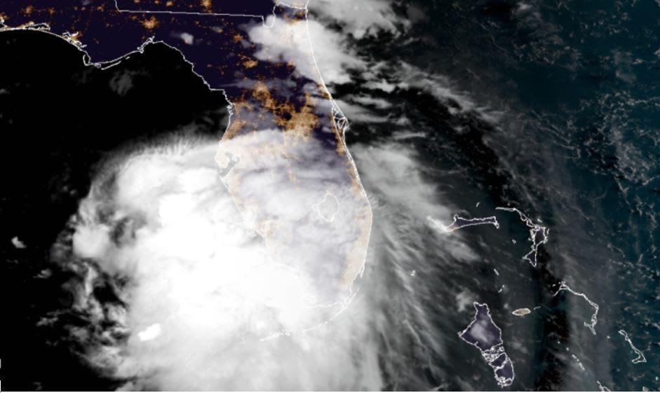 Sally se desplaza hacia el Golfo de México y amenaza a Alabama, Mississippi y Luisiana