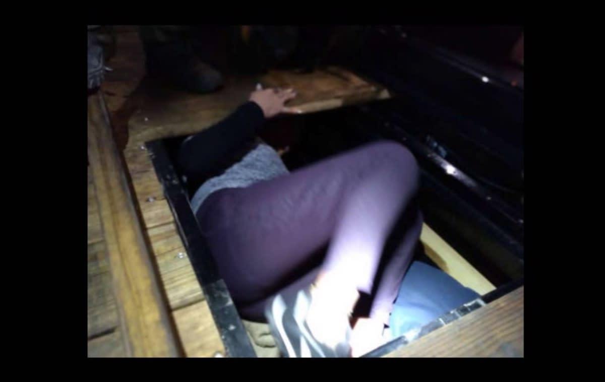 La Patrulla Fronteriza detiene a indocumentados escondidos en un camión (FOTOS)