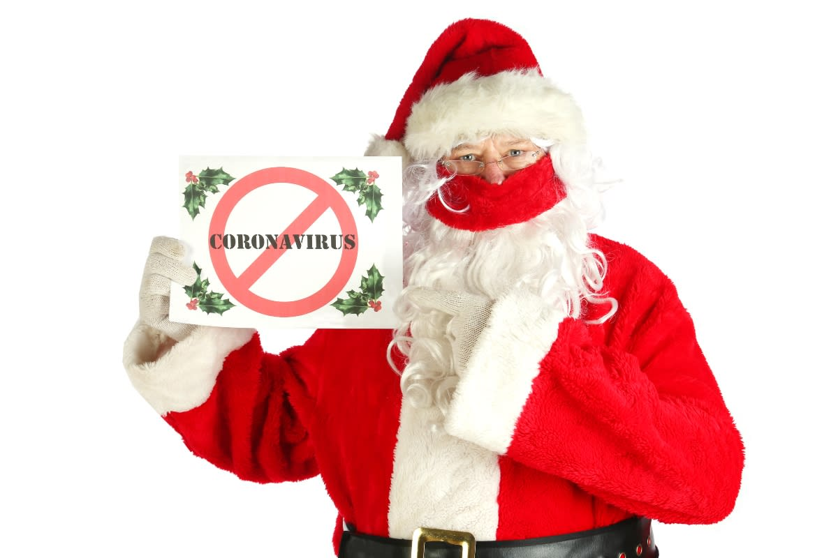 Santa Claus contagiado de COVID-19 ocasionó varias muertes en asilo de Bélgica