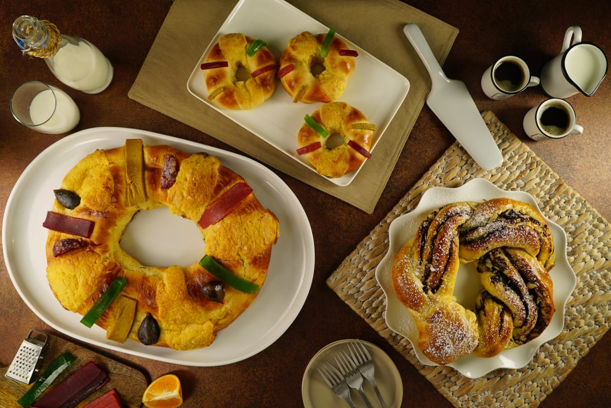 3 recetas de Rosca de Reyes para cerrar la época navideña con broche de oro (VIDEO)