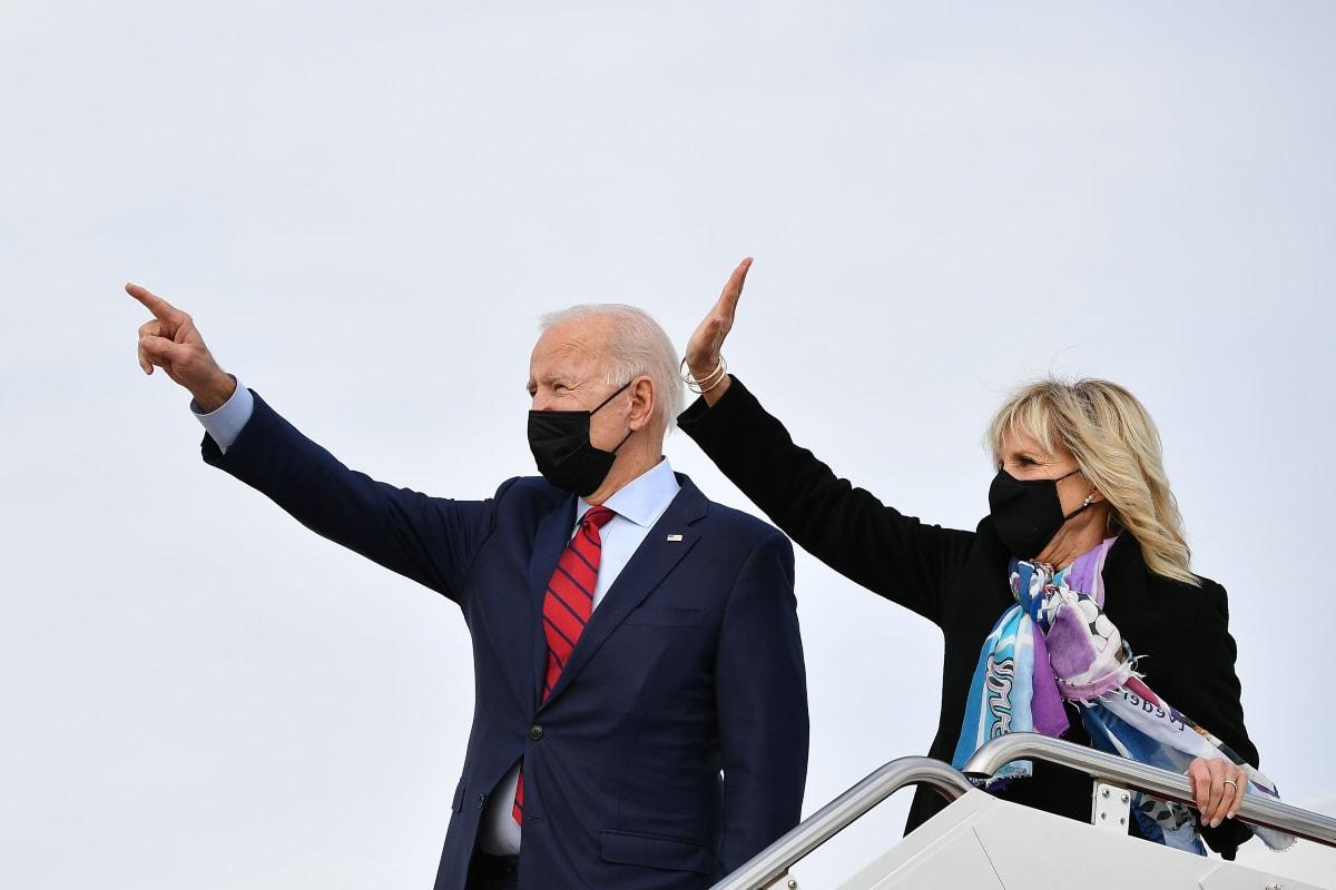 Los Biden envían mensaje por Easter
