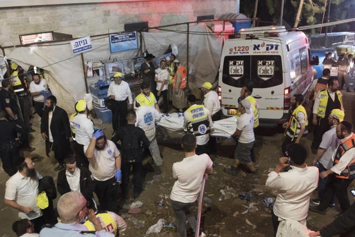 Surgen detalles desgarradores de estampida en Israel que dejó 45 muertos