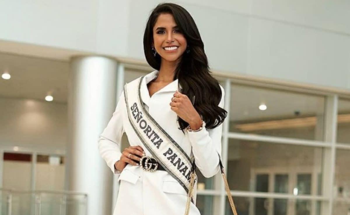 Miss Panamá resbala al tratar de tomarse una selfie (VIDEO)