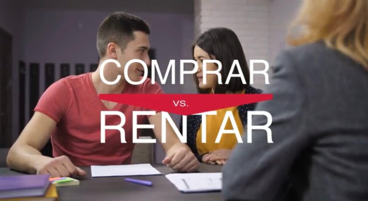 Conoce las diferencias entre comprar y rentar un casa (Video)