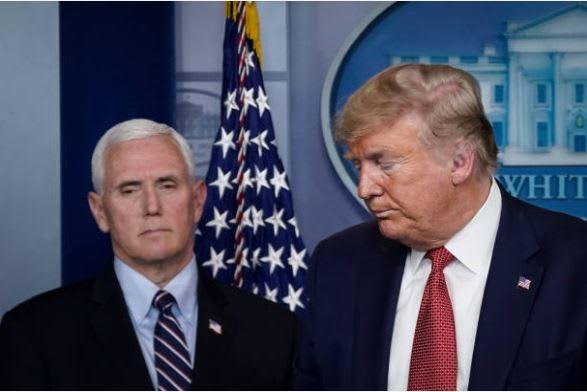 Libro revela pánico en la Casa Blanca de Trump cuando contrajo coronavirus