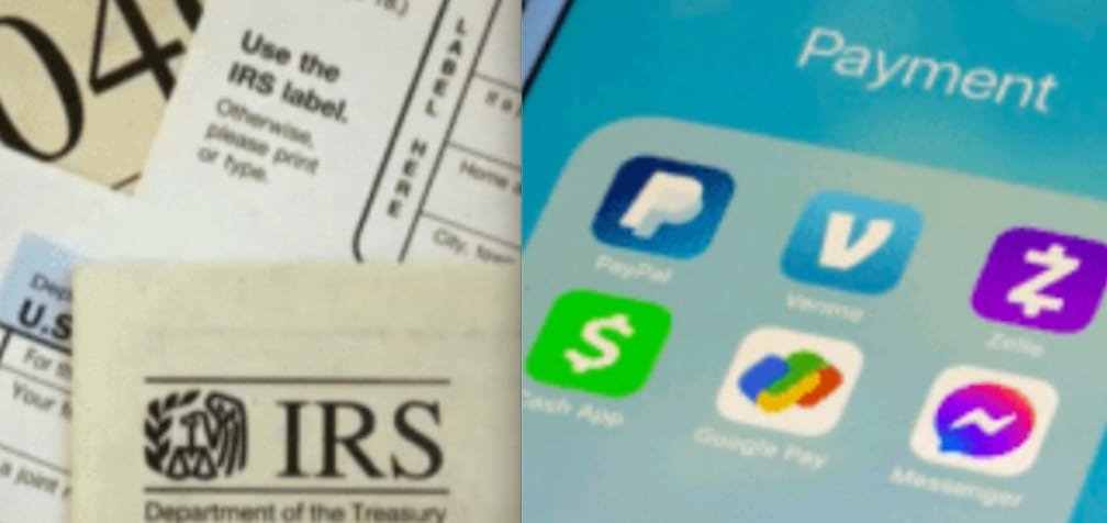 IRS taxes on small businesses that carry out transactions 600 dollars