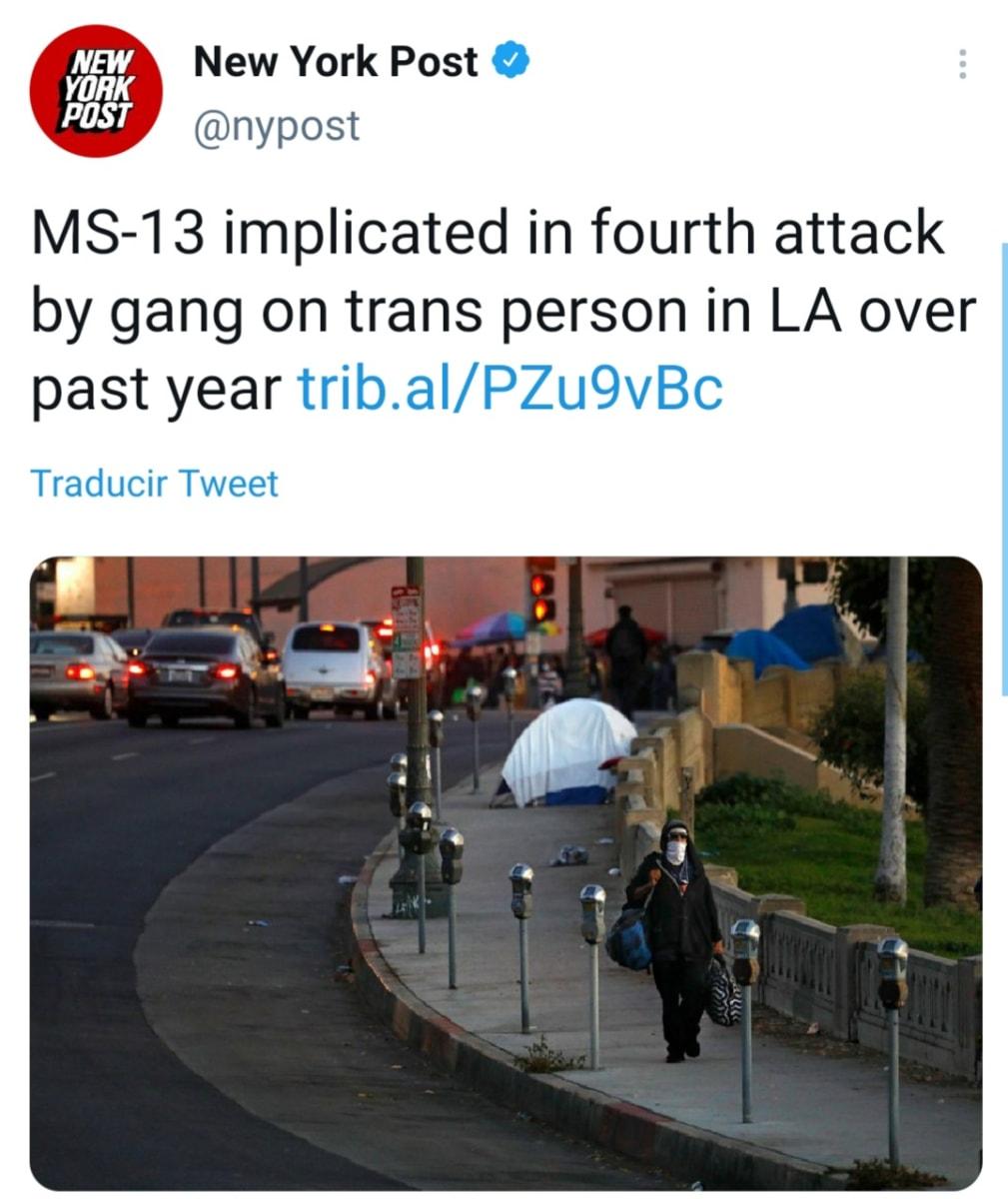 Miembro de la pandilla MS 13 es acusado de atacar a una mujer transgénero