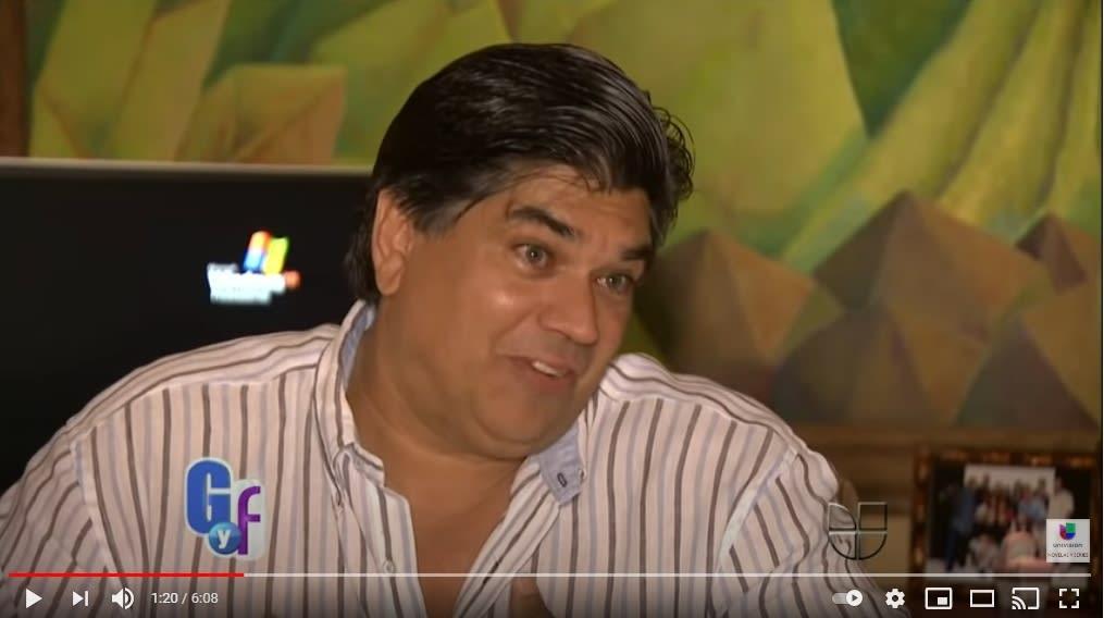 exesposo Lili Estefan Lorenzo Lauces El Gordo y la Flaca 2