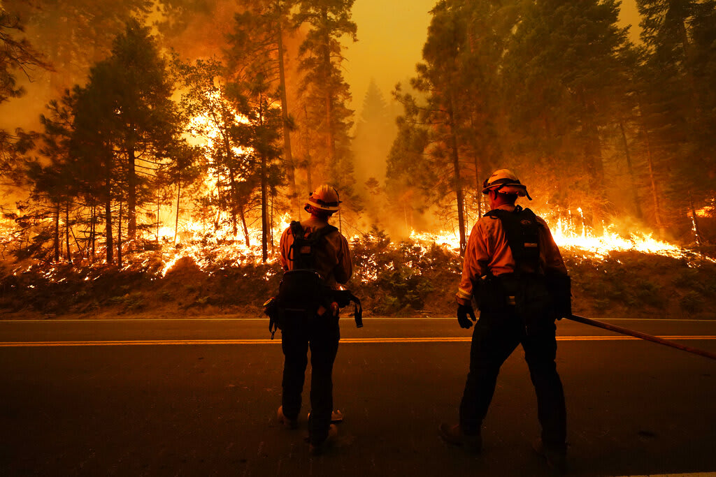 Intense heat and fires break records at the end of April