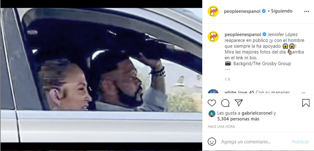 Tras ruptura con Alex Rodríguez captan a Jennifer López con otro hombre