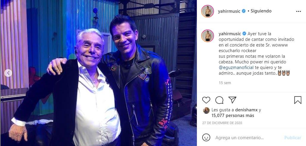 Yahir defiende Guzmán y se le van con todo