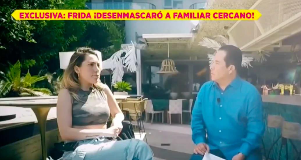 Frida Sofía llora (IG)