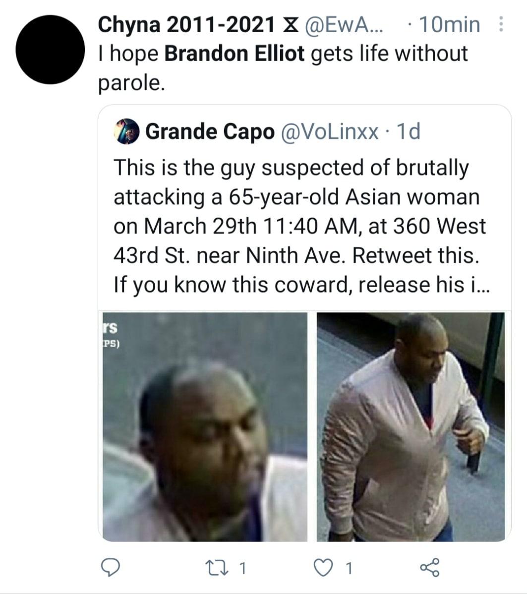 Hombre patea y pisotea a asiática frente a guardias que no hacen nada por defenderla