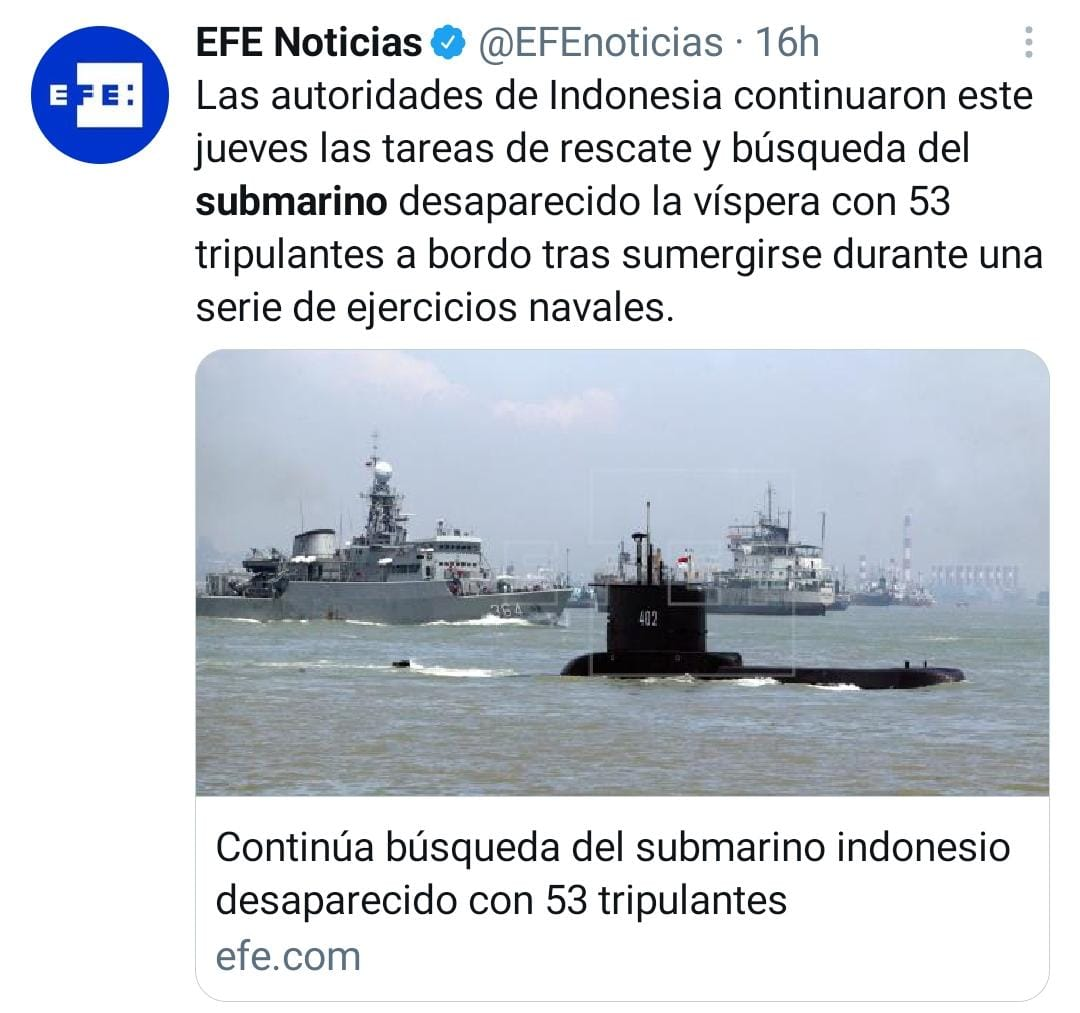 Submarino indonesia