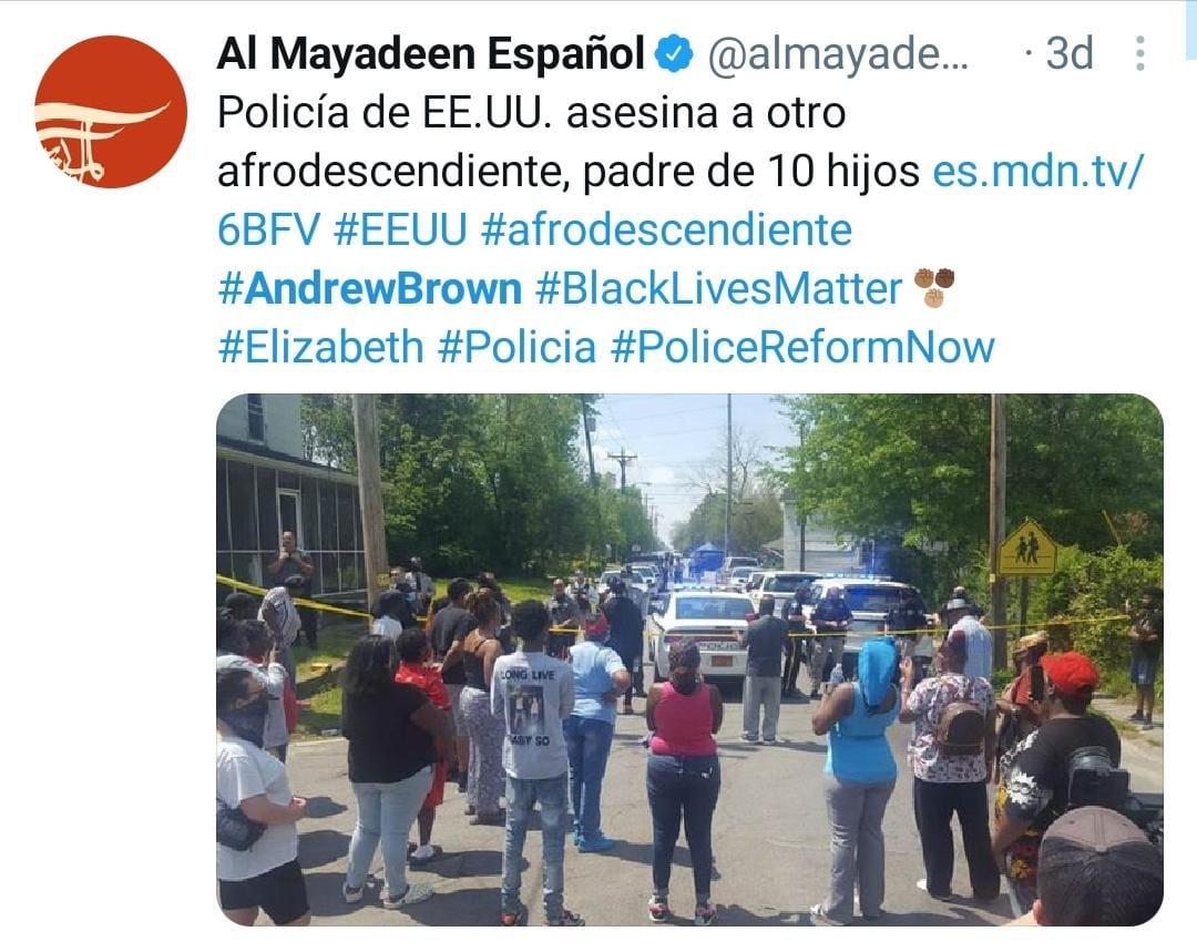 Andrew Brown, Elizabeth City, Muerte, Video