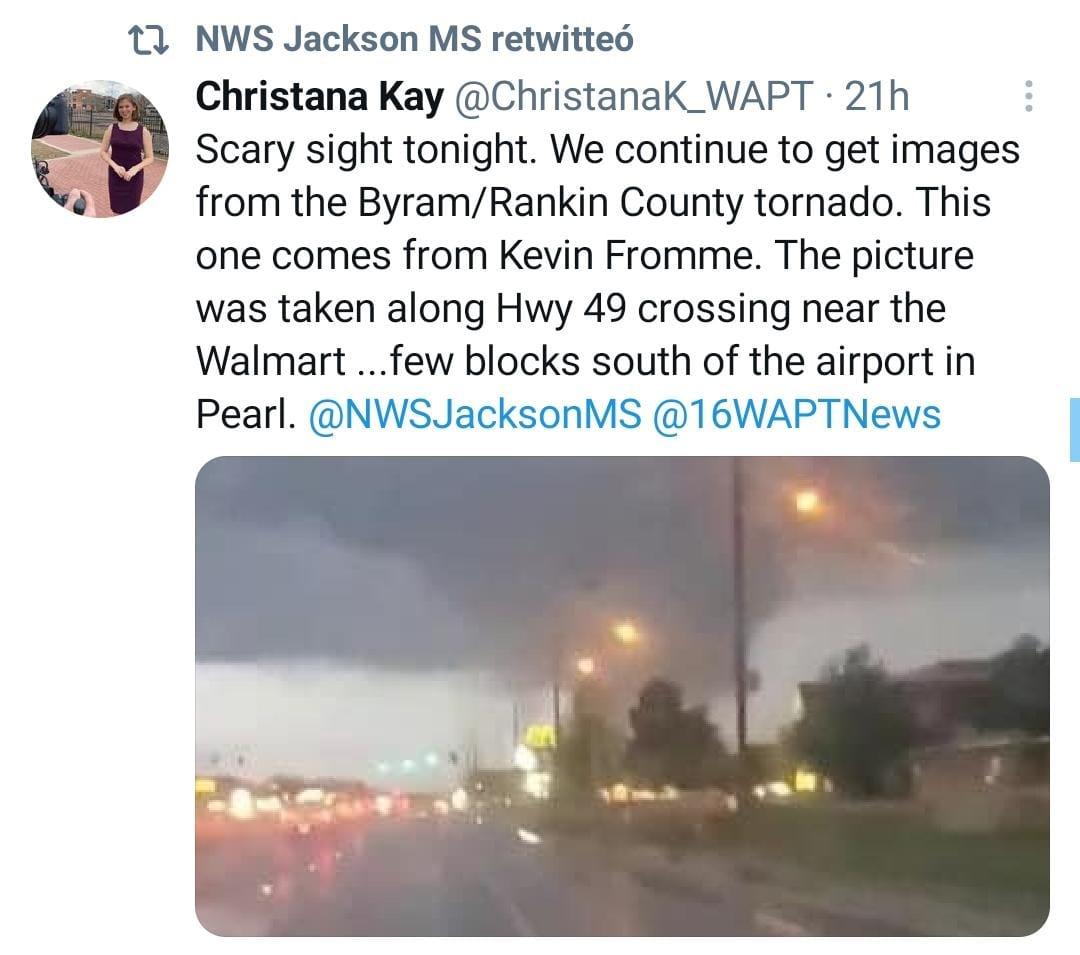 Alerta Clima Severo, Tornado, Tormentas