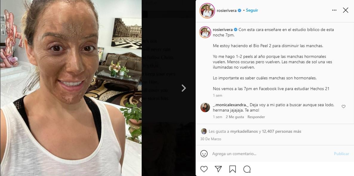 Critican a esposo de Rosie Rivera porque luce irreconocible en foto... a ella le dicen que se ve arrugada