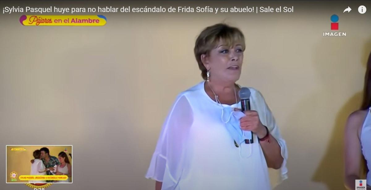 Silvia Pasquel rompe el silencio tras acusaciones de su sobrina Frida Sofía contra Enrique Guzmán