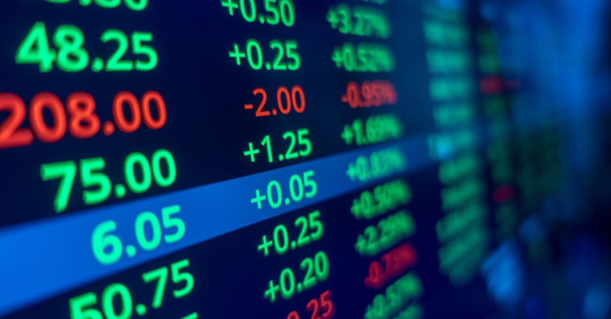 Nueva York Gráfico de operaciones bursátiles y gráfico de candeleros para el concepto de inversión financiera. Antecedentes financieros abstractos.