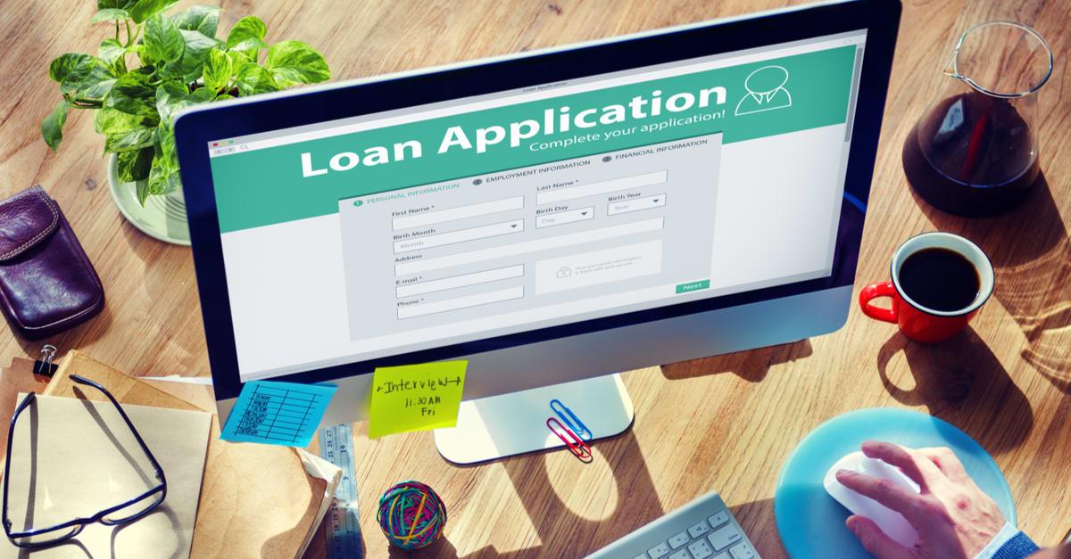 Loan Application Bank Finance Money Businessman Concept loan