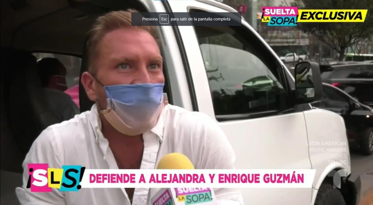 Exnovio de Alejandra Guzmán revela impactantes detalles de su relación con la rockera