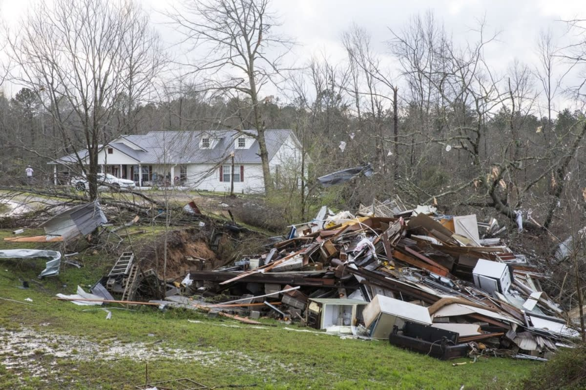 Tornados Sur, Tormentas, Sur de Estados Unidos