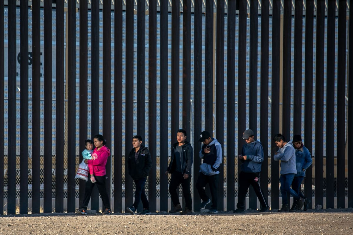 Biden cifra de refugiados, inmigrantes