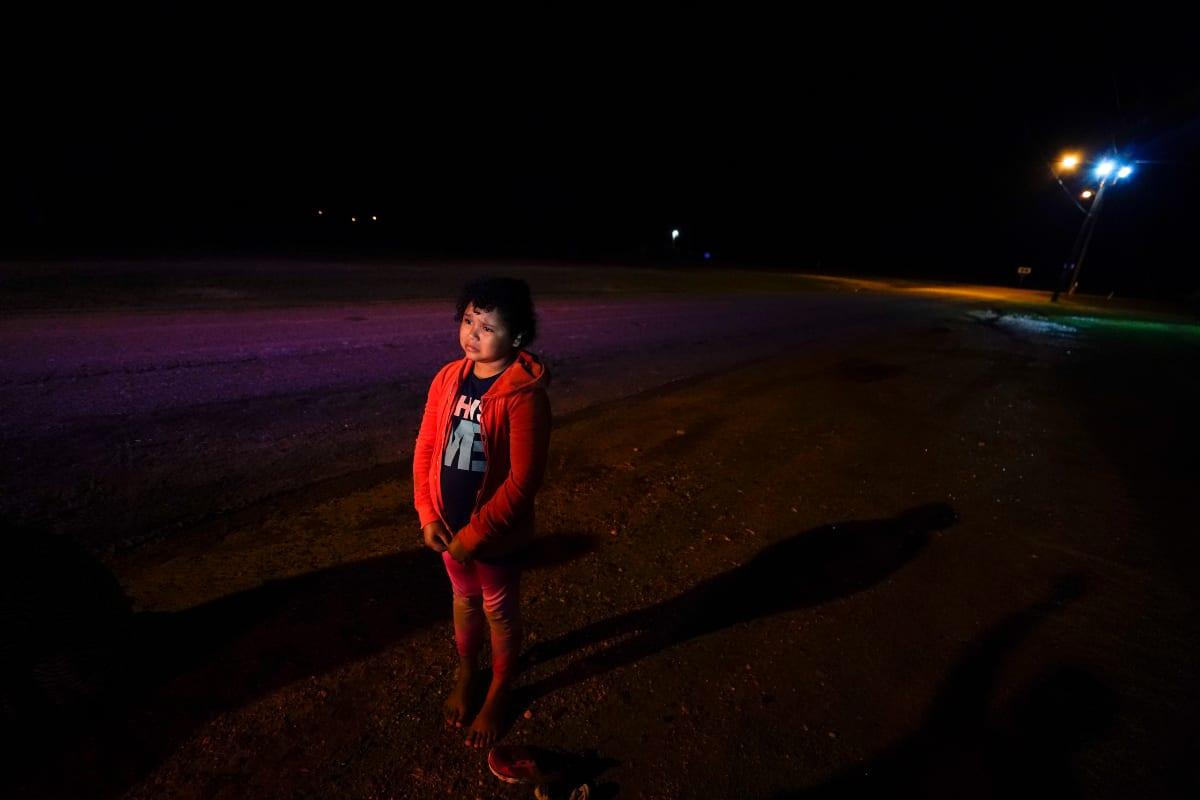 Niña La Migra, Patrulla Fronteriza, Frontera, Menores