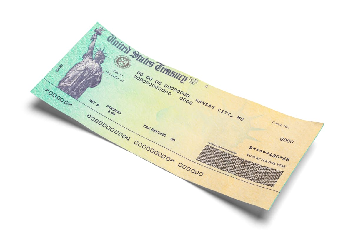 Should I return the third check the IRS sent to a deceased family member?