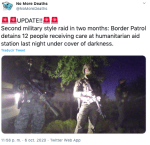 Redada Arizona: Detienen a 12 inmigrantes en campamento