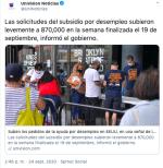 solicitudes subsidio desempleo