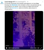 Incendio hotel España deja un muerto y 10 heridos