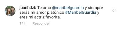 Maribel Guardia cautiva con su rica chuleta a sus seguidores