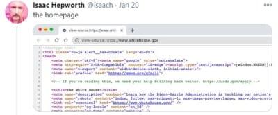Sitio Web Casa Blanca, página Casa Blanca, secreto, nuevo sitio web, USDS