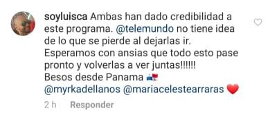 Myrka Dellanos reacciona tras despido de María Celeste de Al Rojo Vivo