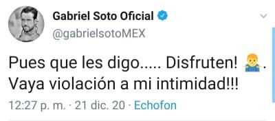 Gabriel Soto rompe el silencio tras la filtración de su video íntimo Iriina Baeva Gerladine Bazán